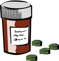 graphic depicting iron tablets