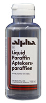 Liquid paraffin (Aptekers-paraffien) photograph